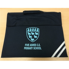 Five Ashes Book Bag with Logo