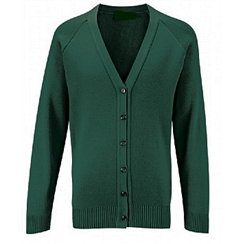 Clearance Bottle Green Acrylic Cardigan