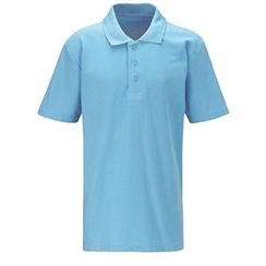 Sky Blue Summer Term Polo