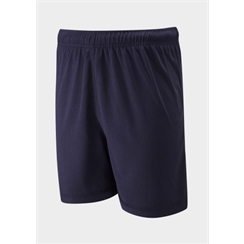 Navy Junior Micromesh PE Short