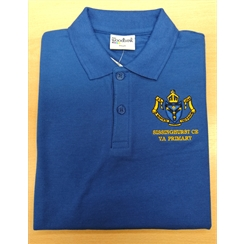 Sissinghurst Primary Reception/Summer Term Polo with New Logo
