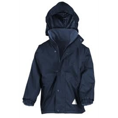 Navy Result Reversible Coat