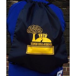 Kings Hill Gym Bag with Logo