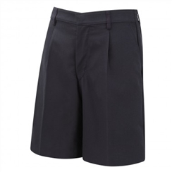 David Luke Navy Bermuda Length School Shorts
