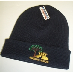 Kings Hill Woollen Hat with Logo