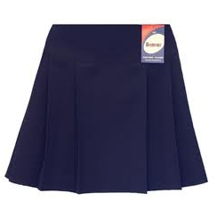 Navy Junior Banbury Banner Skirt