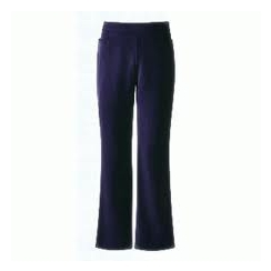 Girls Navy Junior Bootleg Trouser