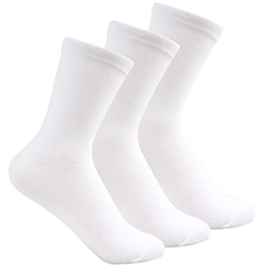 White 3-Pack Short Socks