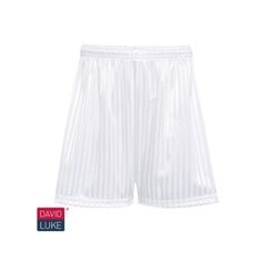 White Shadow Stripe Short