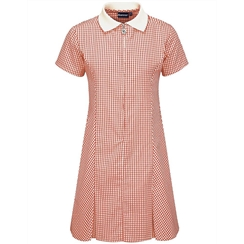 Banner Red Gingham Summer Dress