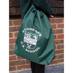 Stonegate Gym Bag with Logo